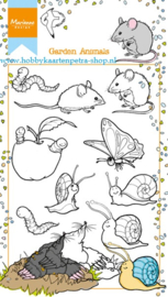 Clear stamps HT1614 Garden animals