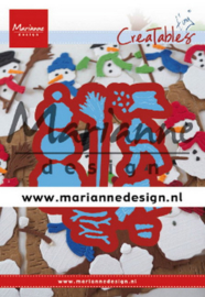 Creatables LR0631 Tiny's Frosty snowmen