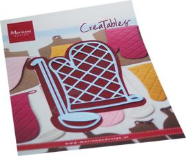 Creatables  LR0707 Oven mitt & spoon
