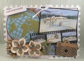 Craft stencil PS8034 - Post card
