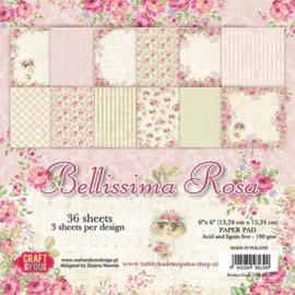 Craft & You paper pad Bellissima Rosa