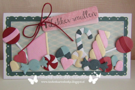 Craftables CR1565 - Candy by Marleen