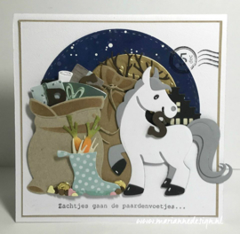 Clear stamps CS1042 - Pietenpost by Marleen