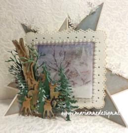 Craftables CR1338 Tiny's Trees Oak