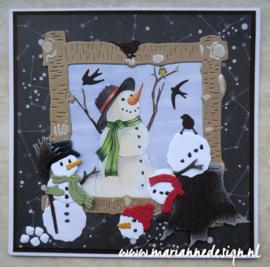 IT613 Tiny's snowmen
