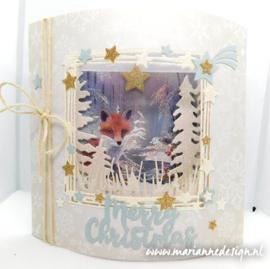 Snow deco paper CA3104