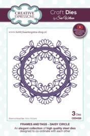 Craft Dies Daisy Circle CED4328