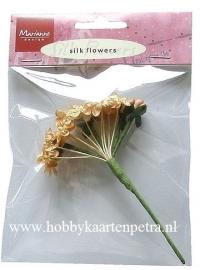 Silk flowers vintage JU0855
