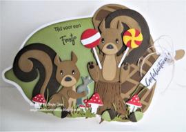 Collectables COL1500 - Eline's squirrel and skunk