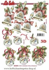Le Suh kerstbal / kerstklok 8215.359