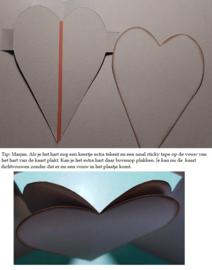 Dutch Card Art Heart Pop Up 470.713.655