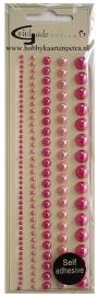 Artikel D105 halve glansparels roze