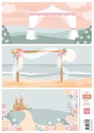 AK0083  Eline's wedding background
