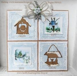 Craftables CR1291 Tiny's birdhouse