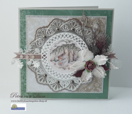 Creatables LR0435 Petra's Poinsettia