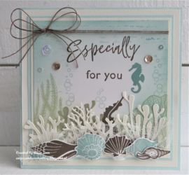 Clear stamps CS1061 - Colorfull Silhouette - Sea Shells