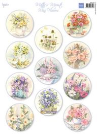MB0190  Mattie's Mini's  Flowers