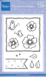 Clear stamps MZ1902 - Marjoleine's anemones