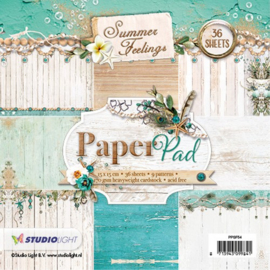 Studio Light paper pad Blok Summer Feelings PPSL54