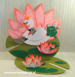 Craftables CR1515 Water lilies