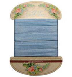 JU0922 Silk lace-Blue