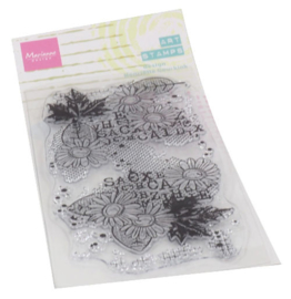 MM1633 Clear stamps Chrysant