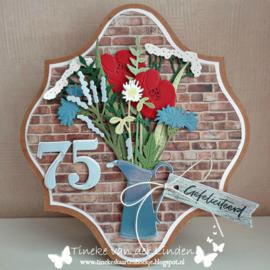 Craftables CR1499 Flower jug by Marleen