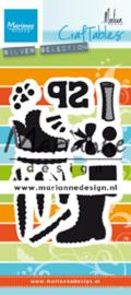Craftables CR1489- Schoentje zetten by Marleen