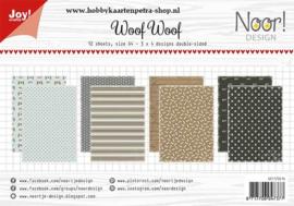 Paper bloc Noor -  Woof Woof 6011/0616