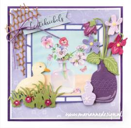 Creatables LR0649 Petra's Violets (viooltjes)