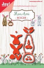 Joy Crafts Mon Ami - Roger konijn 6002/1023