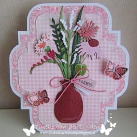 Craftables CR1529  Fresh Flowers