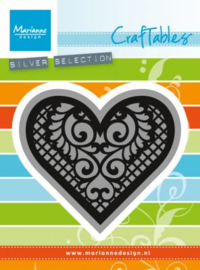Craftables CR1428 Lace heart