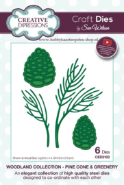 Craft Dies Pine Cone & Greenery CED3103