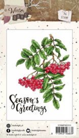 Clear stamps Studio Light  Winter Days, nr.311