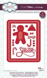 Craft Dies Gingerbread Man CED3114