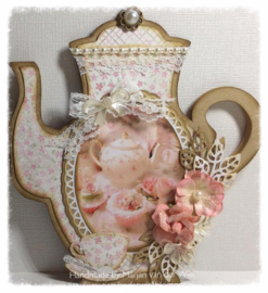 Dutch Card Art Teapot (A4) 470.713.624