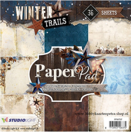 Studio Light paper pad Winter Trails PPWT97