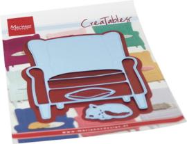 Creatables LR0688 Armchair & kitten