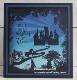 Clear stamps CS1020 Silhouette Fairytales