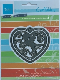 Craftables CR1283 Angel heart