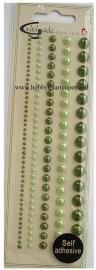 Artikel D106 halve glansparels groen