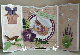 EWK1272 - French antiques lavender