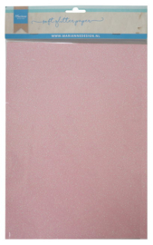 CA3148 Soft glitter paper - light pink