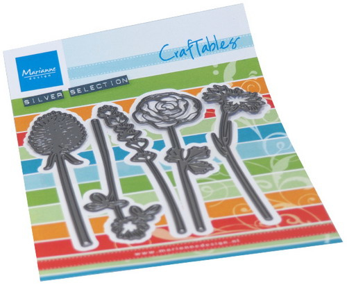 Craftables CR1517 Field Bouquet