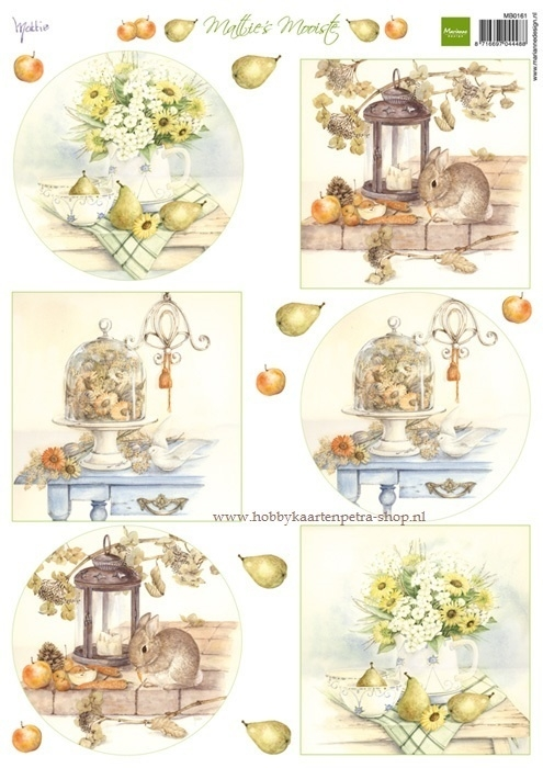 Mattie's mooiste Autumn bouquets MB0161