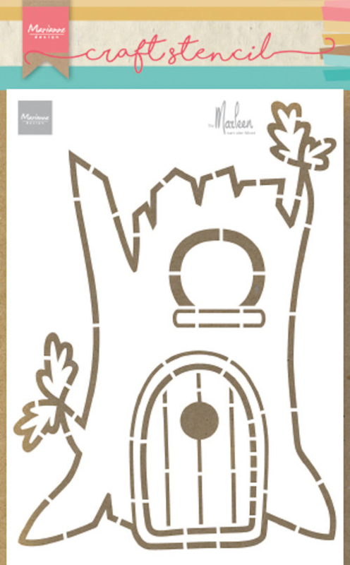 Craft stencil PS8073 Treehouse