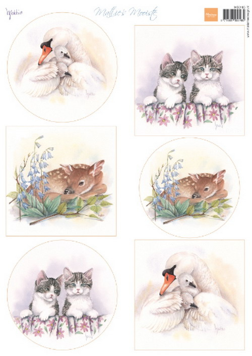 MB0183  Mattie's Mooiste baby animals