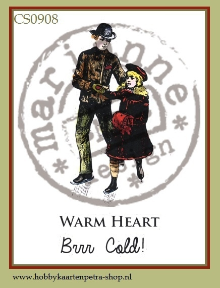 Cling stamps Warm Heart TC0908