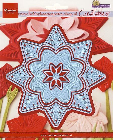 Creatables LR0540 Petra's botanical star